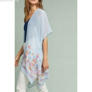 ANTHROPOLOGIE Meredith Embroidered Kimono